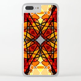 Vibrant Continuity Clear iPhone Case