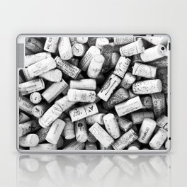 Something Nostalgic II Twist-off Wine Corks in Black And White #decor #society6 #buyart Laptop & iPad Skin