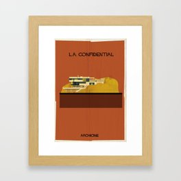 L.A. Confidential  Directed by Curtis Hanson Framed Art Print