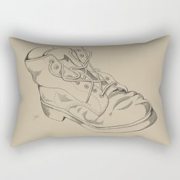 Art Study (the boot part 2) Rectangular Pillow