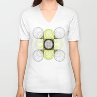 lee pace V-neck T-shirts featuring spirals pace by Gaspart