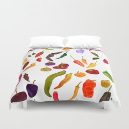 Chilis Duvet Cover