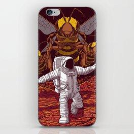 Killer bees on Mars. iPhone Skin