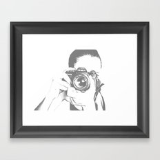 A Different Kind of Art Framed Art Print