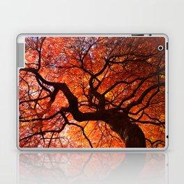 Ephemeral - Fall Maple Leaves, Nature Photography Laptop & iPad Skin