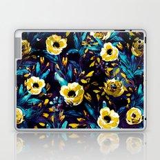 Golden Flowers Laptop & iPad Skin
