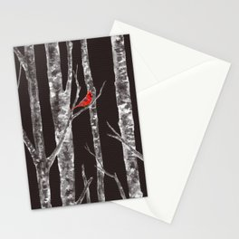 Lone Cardinal Stationery Cards