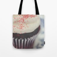 cupcake Tote Bags featuring cupcake by Beverly LeFevre