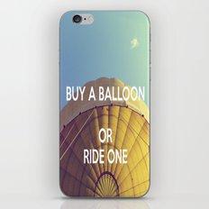 Buy A Balloon iPhone & iPod Skin