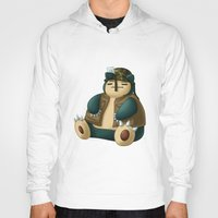 snorlax Hoodies featuring Warlax! by Kashidoodles Creations
