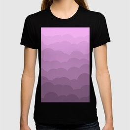 Lavender Ombre Clouds T-shirt