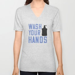 Wash Your Fucking Hands Unisex V-Neck