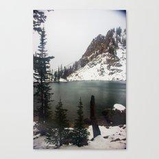 Secret Lake Canvas Print