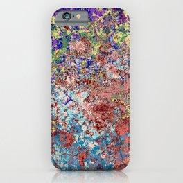 Barong - Abstract Bohemian Batik Camouflage Tie-Dye Style Art iPhone Case