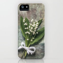 Beautiful Lily Of The Valley iPhone Case