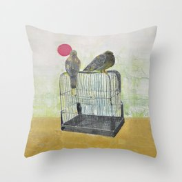 Free Birds Throw Pillow