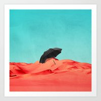 oasis Art Prints featuring Oasis by SUBLIMENATION