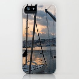 Nautical Sunset in Italy iPhone Case