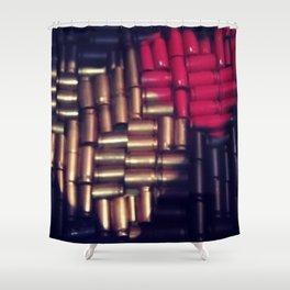 Make Love NOT War Shower Curtain