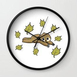 Lazy Bones Sloth Wall Clock