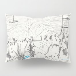 East End of the Navy Yard Pillow Sham