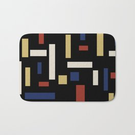 Abstract Theo van Doesburg Composition VII The Three Graces Bath Mat
