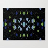 interstellar Canvas Prints featuring Interstellar by writingoverashes
