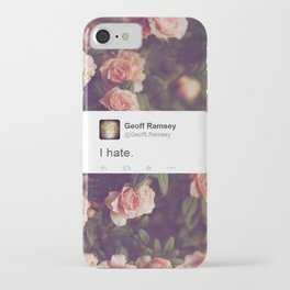 I Hate. iPhone Case
