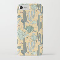 guns iPhone & iPod Cases featuring Succulent Guns by LaPenche