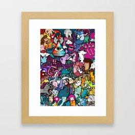 Freaky Friday Framed Art Print