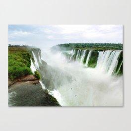 Devil's Throat at Iguazu Falls Fine Art Print Canvas Print