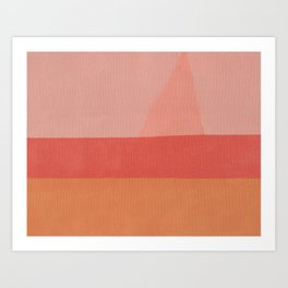 Sailing in Summer Art Print