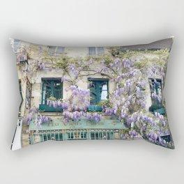 Au Vieux Paris Rectangular Pillow