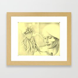 And that moment was all that is. Framed Art Print