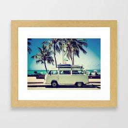 Caravan Life Framed Art Print