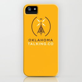 Oklahoma Talking Co.  iPhone Case