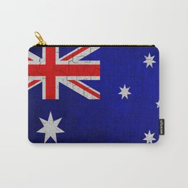 Cracked Australia flag Carry-All Pouch