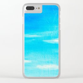 Blue Skies in Florida #5 Clear iPhone Case