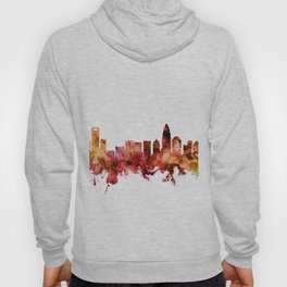 Charlotte North Carolina Skyline Hoody