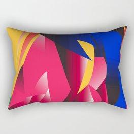 Art Pop Section Rectangular Pillow
