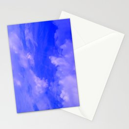 Aerial Blue Hues III Stationery Cards