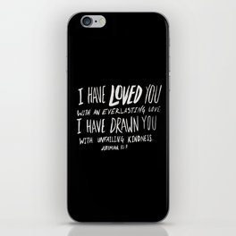 Everlasting Love II iPhone Skin