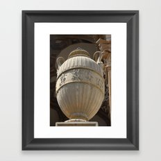 Decorative Urn - Palace Of Fine Arts SF Framed Art Print