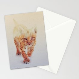 Little Ones: Lynx Stationery Cards