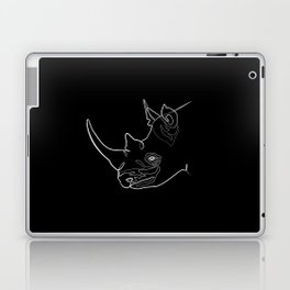 Rhino (black) Laptop & iPad Skin