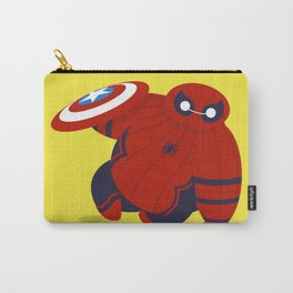 Spider Man x Baymax (Spidermax) Carry-All Pouch