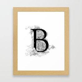 Alphabetanauts - B Framed Art Print