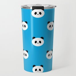 Panda bear pattern design Travel Mug