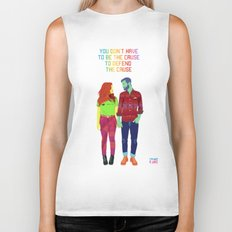 You don't have to be the cause Biker Tank