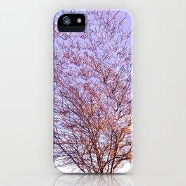 Trippy Tree in Autumn iPhone Case
